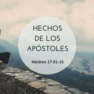 19-07-2016 - Estudio: Hechos de los Apóstoles, Hechos 17:01-15