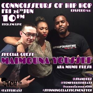 SKANDOUZ & Tom Foolery Beats - Connoisseurs Of Hip Hop 66 - Maimouna Youssef