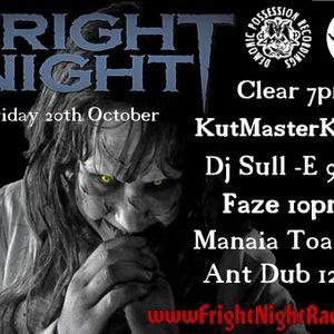 Fright Night Radio 20th October 2017