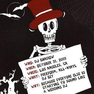 DJ Shadow Live in Los Angeles, CA - Halloween, 2009 - MP3 Mix