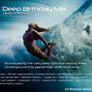 Deep Birthday Mix