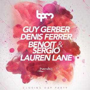 Dennis Ferrer @ The BPM Festival 2014 - This is The End (12-01-14)