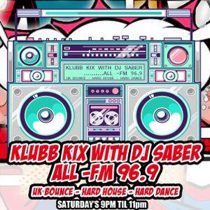 Klubb Kix-DJ SABER-ALLFM96.9-Show054 29-07-2017