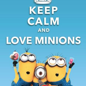 Emaus - Keep Calm And Love Minions