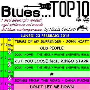 BLUES TOP 10 - Lunedi 23 Febbraio 2015 (cluster 1)