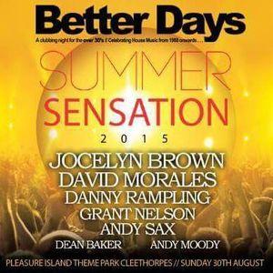 Dean Baker Better Days pre Summer Sensation mix