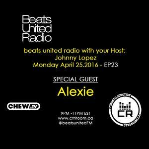 Alexie @ Beats United Radio - April 25 2016