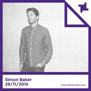 Simon Baker - fabric Promo Mix