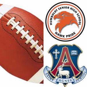 St. Agnes vs. Humboldt Football Game 9.22.17