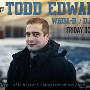 Todd Edwards Live @ Smart Bar - Chicago (26-10-2012)