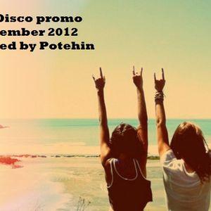 Nu Disco promo November 2012 mixed by Potehin