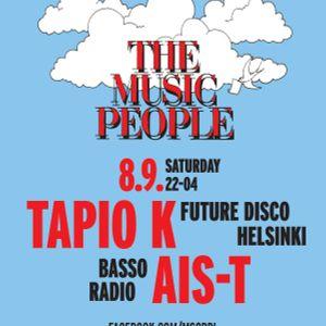 Music People @ Mbar 8.9.2012 w/ DJs Tapio K & Ais-T (+3h live recording)
