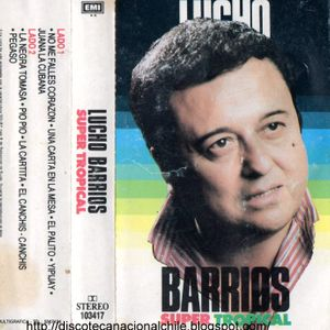 Lucho Barrios: Super tropical. 103417. Emi Odeón Chilena. 1990. Chile