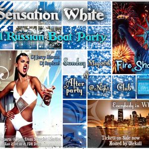 Sensation White Russian Boat Party