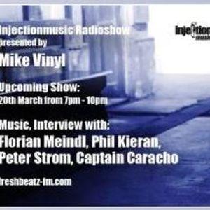 Peter STROM - Mike Vinyls Injection Music Radio Show Austria (exclusive vinyl mix)