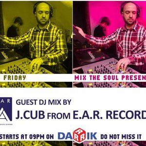 J.Cub Guest Mix (Broadcasted on 17.06.2011 Mix The Soul witt Vladislav Moustache Love)