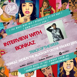 The #MWAP Show with Guest Rapper Bonkaz on Shoreditch Radio 29th June 2015