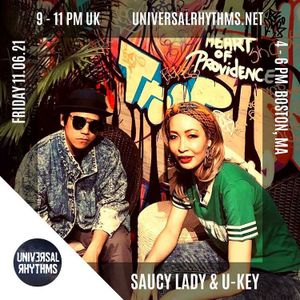 Saucy Lady & U-KEY - The Green Room 11.06.21 EPISODE 5