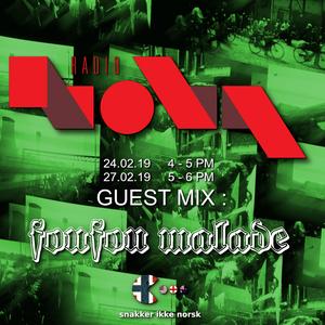Radio Nova - Guest Mix : foufou malade