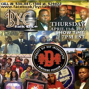 Dynasty Hip Hop Mentoring Inc 11/04/2013 - Mentoring Youth through Music