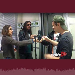 Programa Noite D+ na Radio Pop FM com o guitarrista Digão.