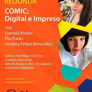 Mesa Redonda: Comic digital e Impreso