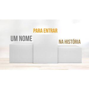 UM NOME PARA ENTRAR NA HISTÓRIA - 1 de 5 - Superando Limites