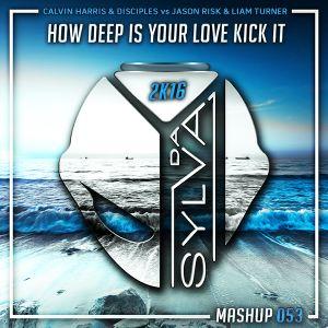 Calvin Harris x Disciples Vs Jason Risk x L Turner - How Deep Is Your Love Kick It (Da Sylva Mashup)