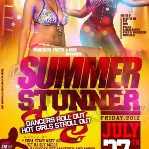 SUMMER STUNNER - JULY 27 - #DANCEHALL