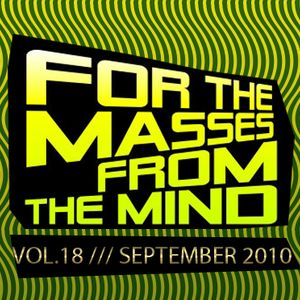 Gonzalo Shaggy Garcia - For the masses, from the mind - Vol.18 (Sept2010)