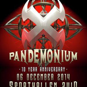 Da Machinery @ Pandemonium 2014 - The 10th Anniversary 6-12-2014 (Warming up set)