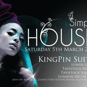 Simply House 1 -  Mixed by FUNK MOB (DRS & PELE) hosted by CREED