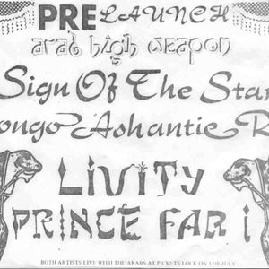 Prince Far-I and Creation Rebel Live, Germany, 1983