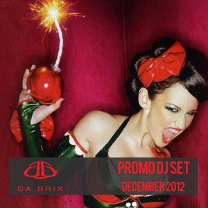 DA BRIX - Promo Dj Set December 2012