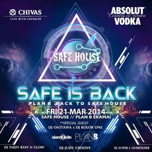 ★Safe House Is Back★ Mar 2014 Bonus Mixtape By Zuper L Overdose