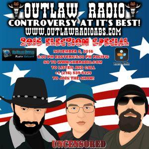Outlaw Radio (November 5, 2016)