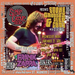 Stone Grooves & Deep Cuts on BiC Radio - December 21, 2016 [Frank Zappa Tribute #2] (check comments)