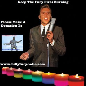 Listen Again To The Billy Fury Show Aired On Big Venture Radio Thursday 160616