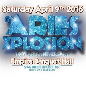 Aries Xplosion 2k16 Promo Mix (April 9th 2016)