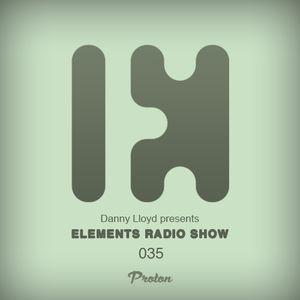 Danny Lloyd - Elements Radio Show 035