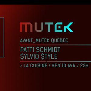 Patti Schmidt et Sylvio Style (Zupton) live à La Cuisine - avril 2015