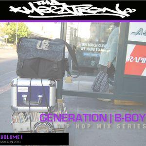 GENERATION   B-BOY VOL. 1 (HIP HOP MIX SERIES)