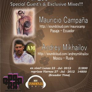 Mauricio Campaña - Progressive Planet Radio Broadcast # 027 Jul 2012