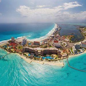Cancun Sun Down