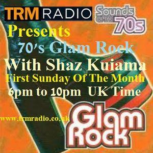 Through The Years - November Glam Rock Special - Sun 3rd Nov 2013