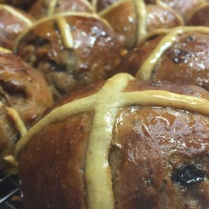 History and significance of the hot cross bun