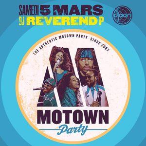 Dj Reverend P @ Motown Party, Djoon Club, Saturday March 5th, 2016