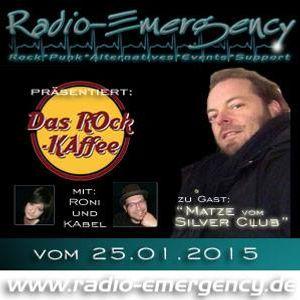 ROck-KAffee vom 25.01.2015 - zu Gast: Matze Bosenick