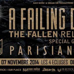 RCV99FM - What's up - 28/10/14 - invités : A Faling Devotion + Céline / Danièle Aéronef