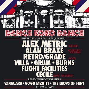 Dance Koko Dance & Radio ClubFoot present The Loops of Fury
